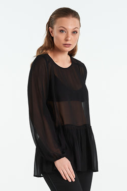 GRANITE TOP | BLACK - NYNE - NZ Made Women's Clothing