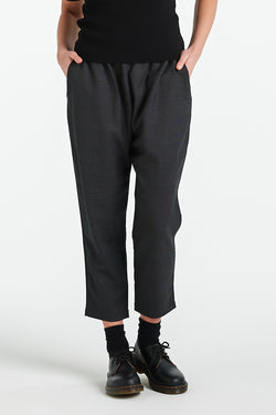 LENNOX PANT 2.0 | CHARCOAL - NYNE - NZ Made Women's Clothing