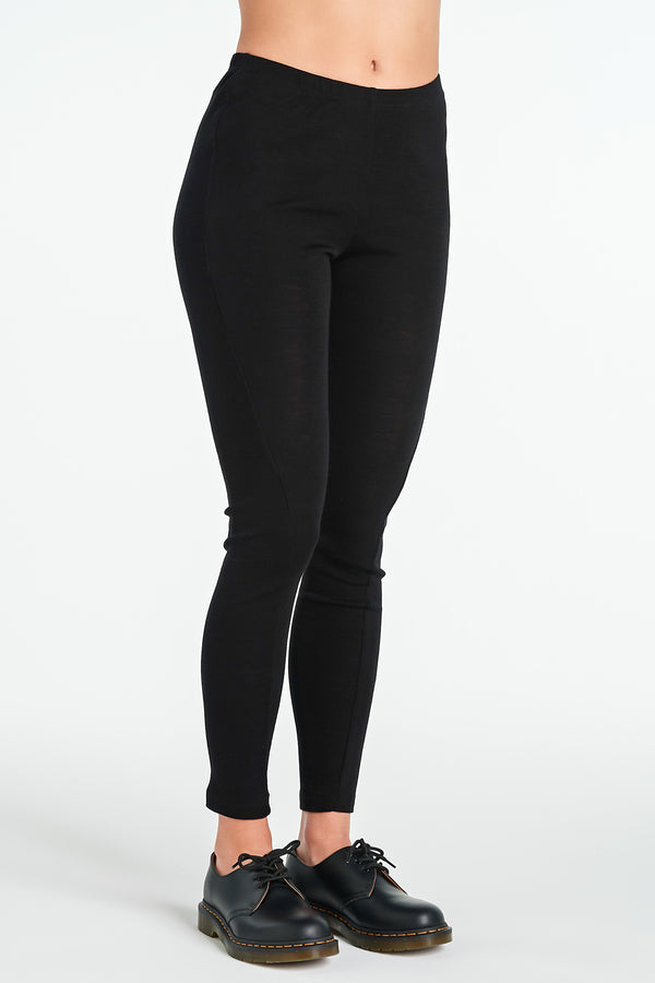 IMAGE LEGGING | BLACK MERINO - NYNE - NZ Made Women's Clothing