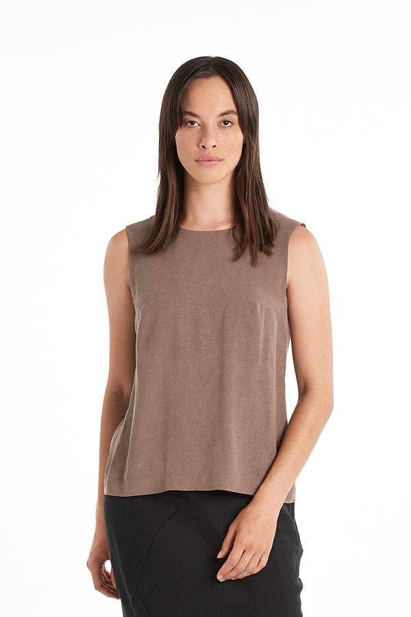 Modern Singlet | Taupe | NYNE | Online Store