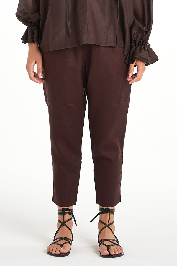 Lennox Pant | Chocolate | NYNE | Online Store