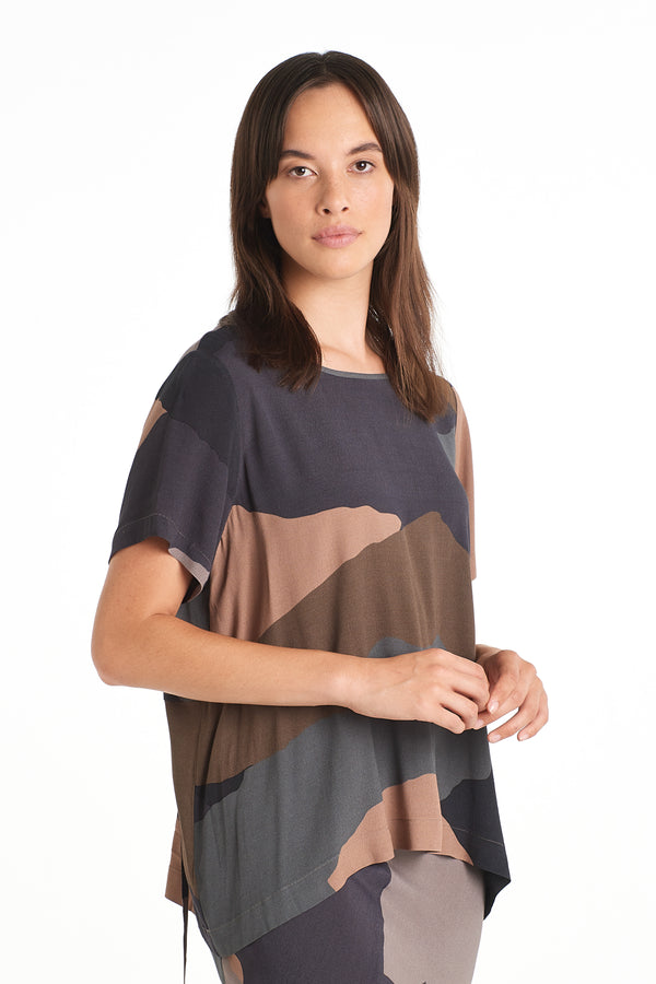 Print Top | Shadowlands Dark | NYNE | Online Store