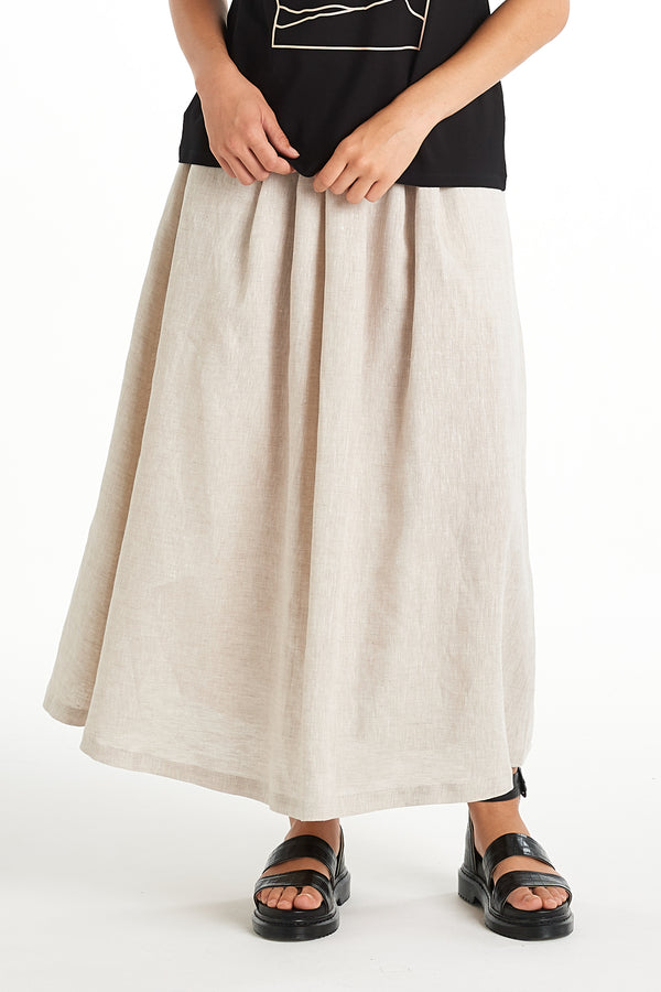 Intuition Skirt | Natural | NYNE | Online Store