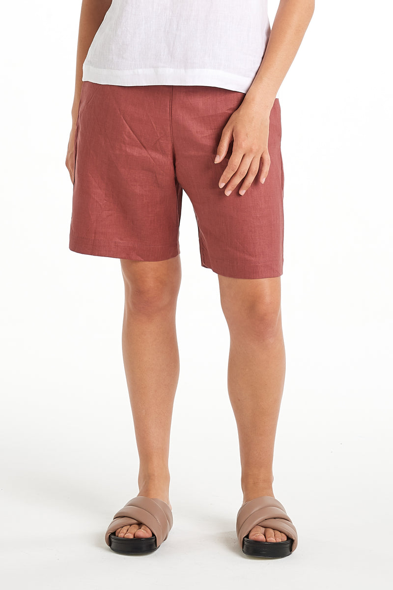 Ceramic Short | Dusty Rose | NYNE | Online Store