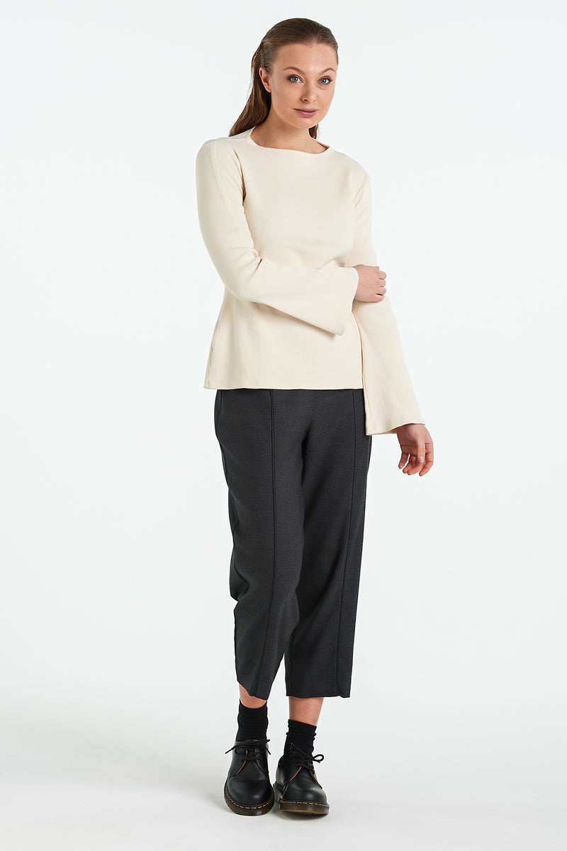 VENETIAN PANT | CHARCOAL - NYNE - NZ Made Women's Clothing