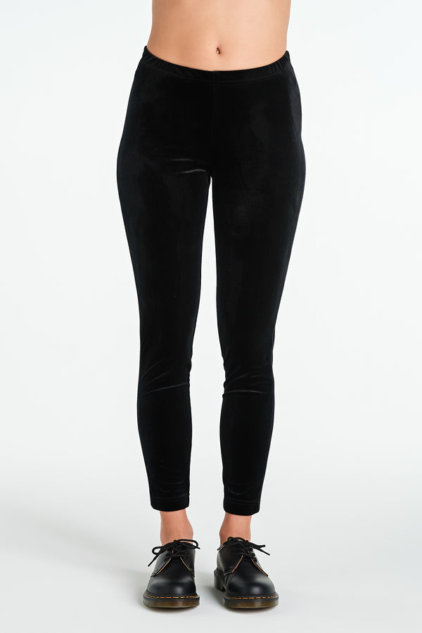 PHOENIX PANT | BLACK VELVET - NYNE - NZ Made Women's Clothing