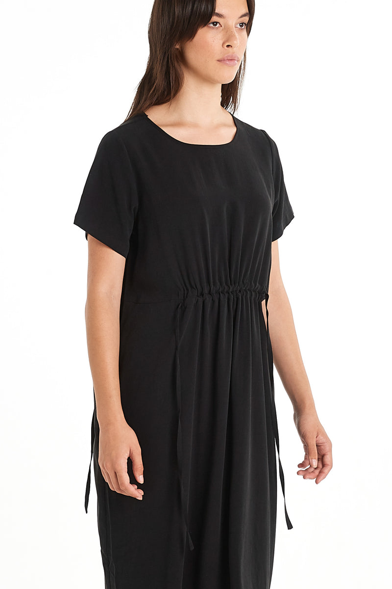 Divide Dress | Black | NYNE | Online Store