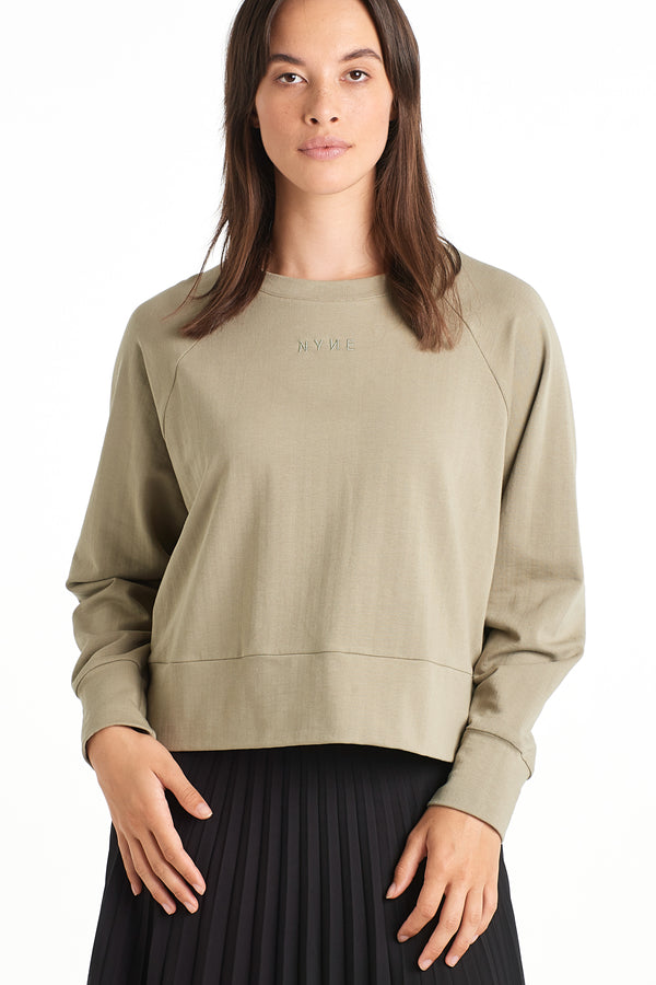 Long Lands Sweater | Sage | NYNE | Online Store