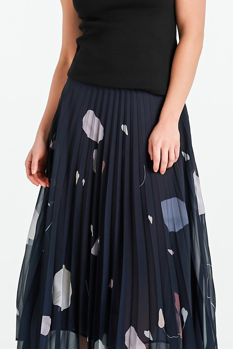BOND SKIRT | INK MINERAL - NYNE - NZ Made Women's Clothing