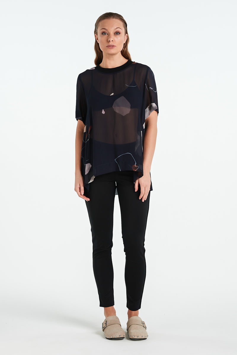COMPOSITE TOP | INK MINERAL - NYNE - NZ Made Women's Clothing