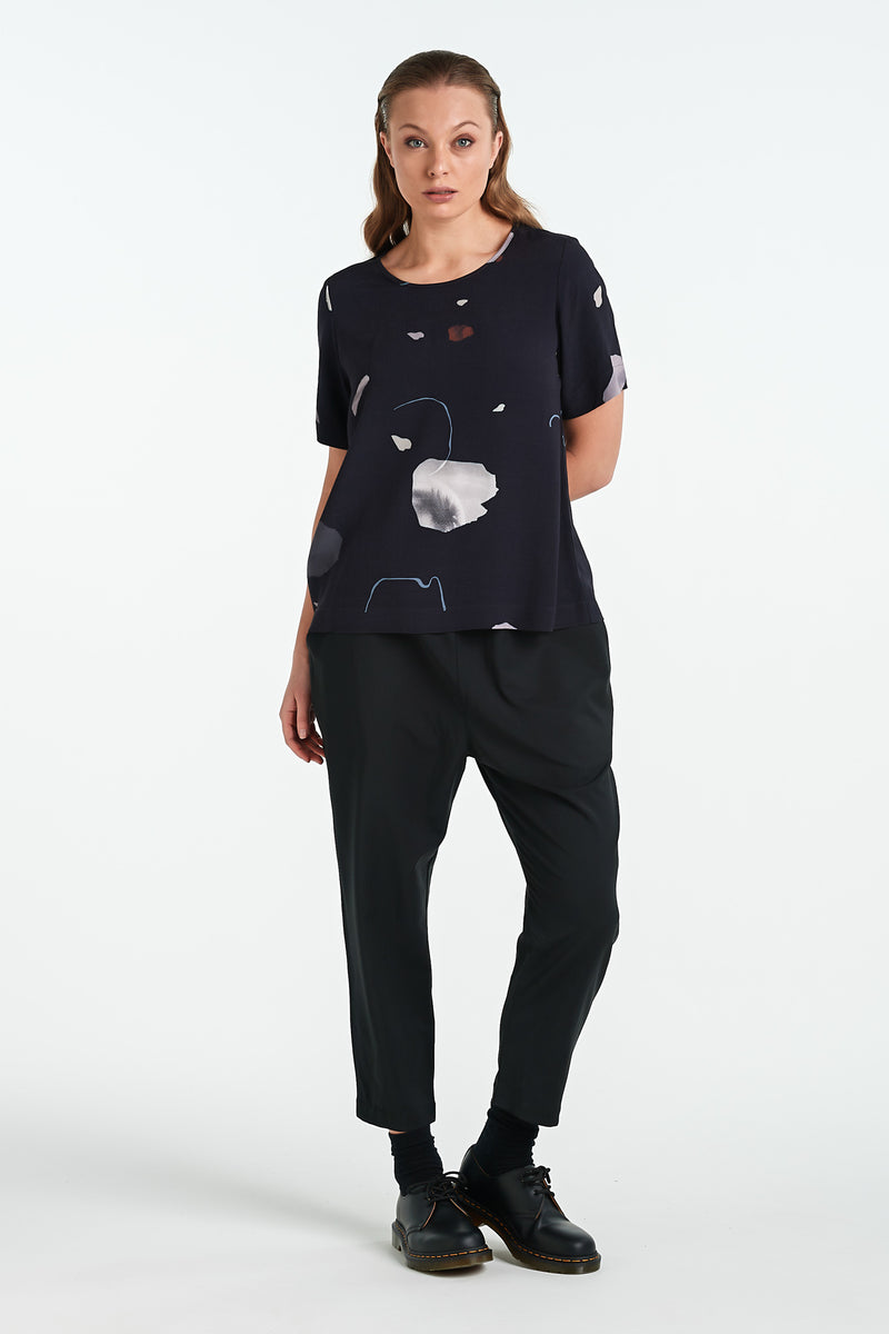 ARC TOP | INK MINERAL - NYNE - NZ Made Women's Clothing