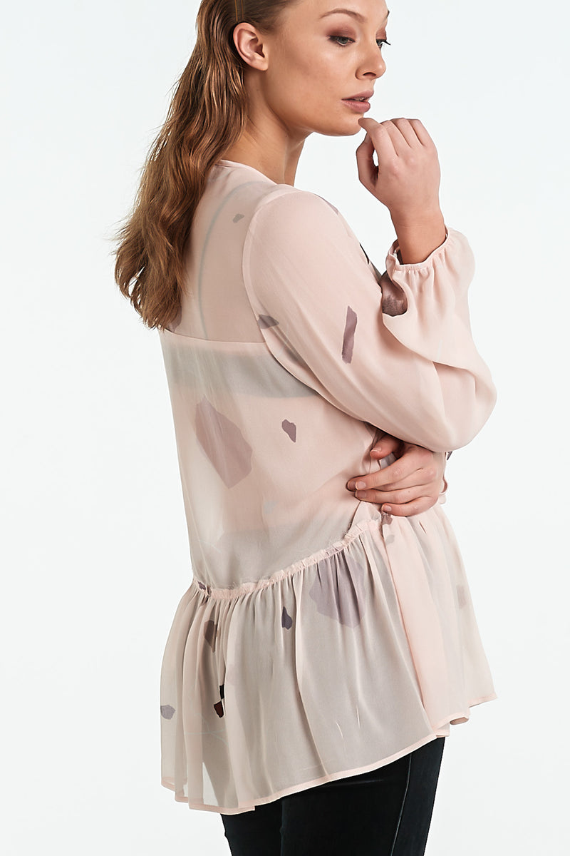 GRANITE TOP | BLUSH MINERAL - NYNE - NZ Made Women's Clothing