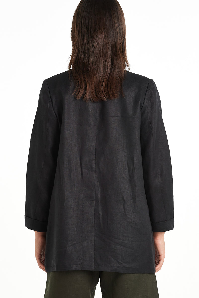 Press Blazer| Black | NYNE | Online Store