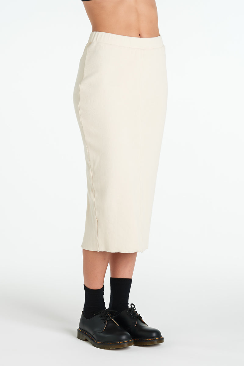 LAYER SKIRT | IVORY - NYNE - NZ Made Women's Clothing
