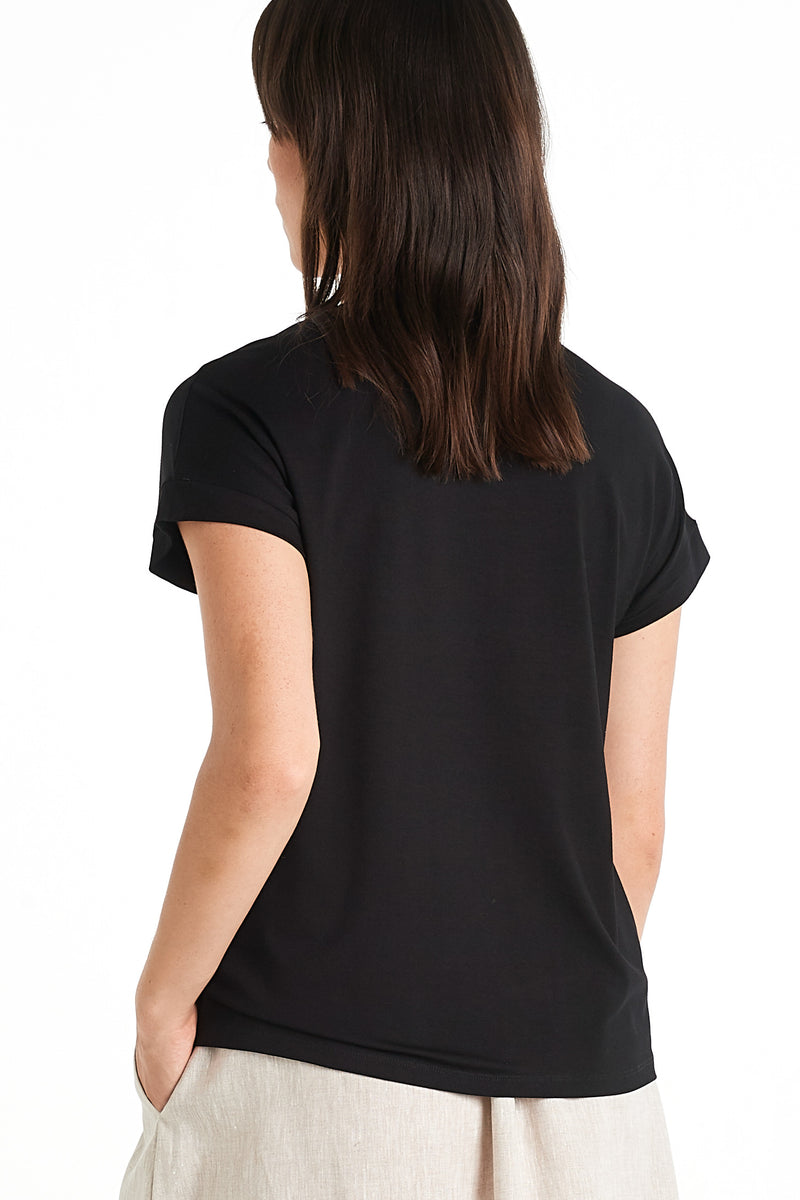 Etch T-shirt | Black | NYNE | Online Store