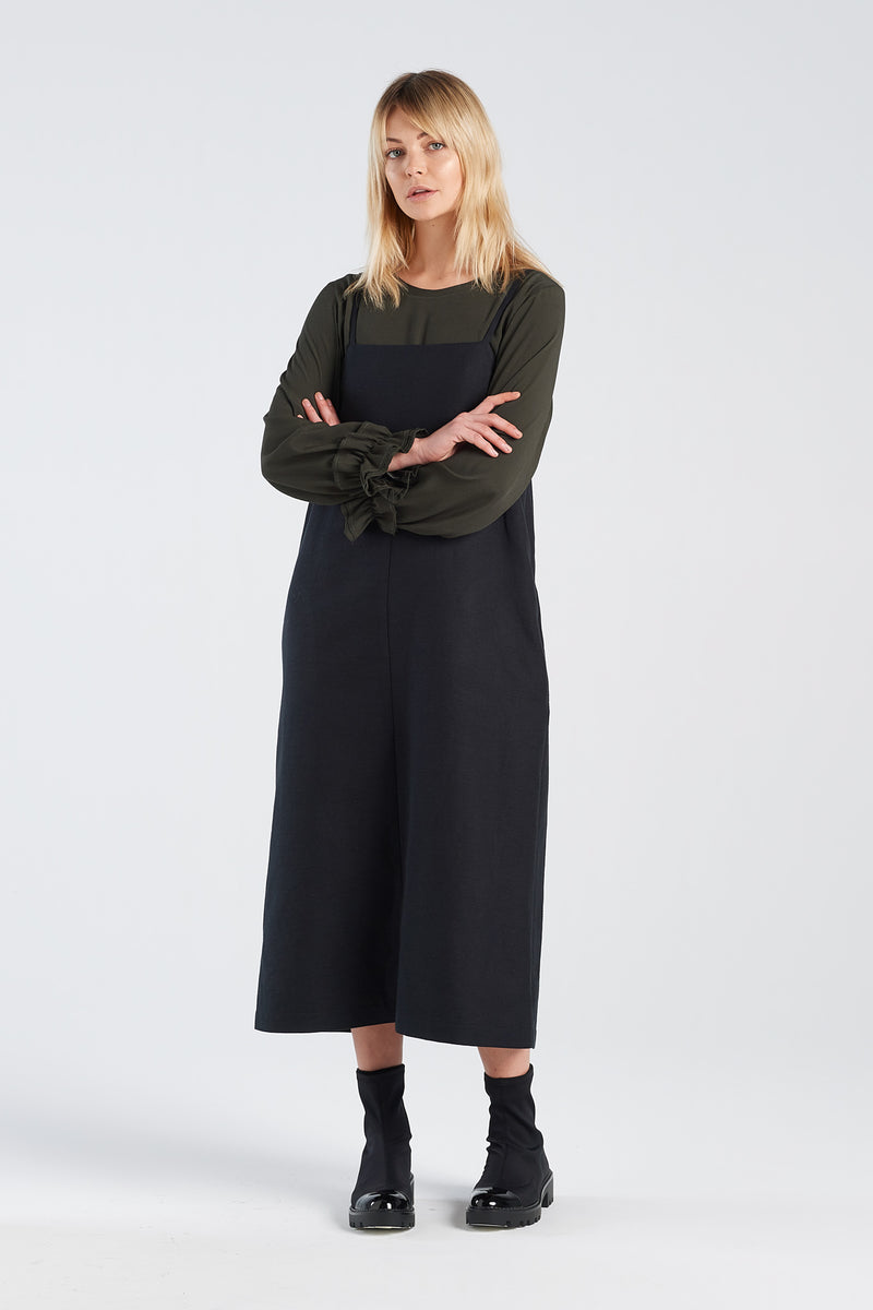 SOCIAL DRESS | BLACK - NYNE - NZ Made Women's Clothing