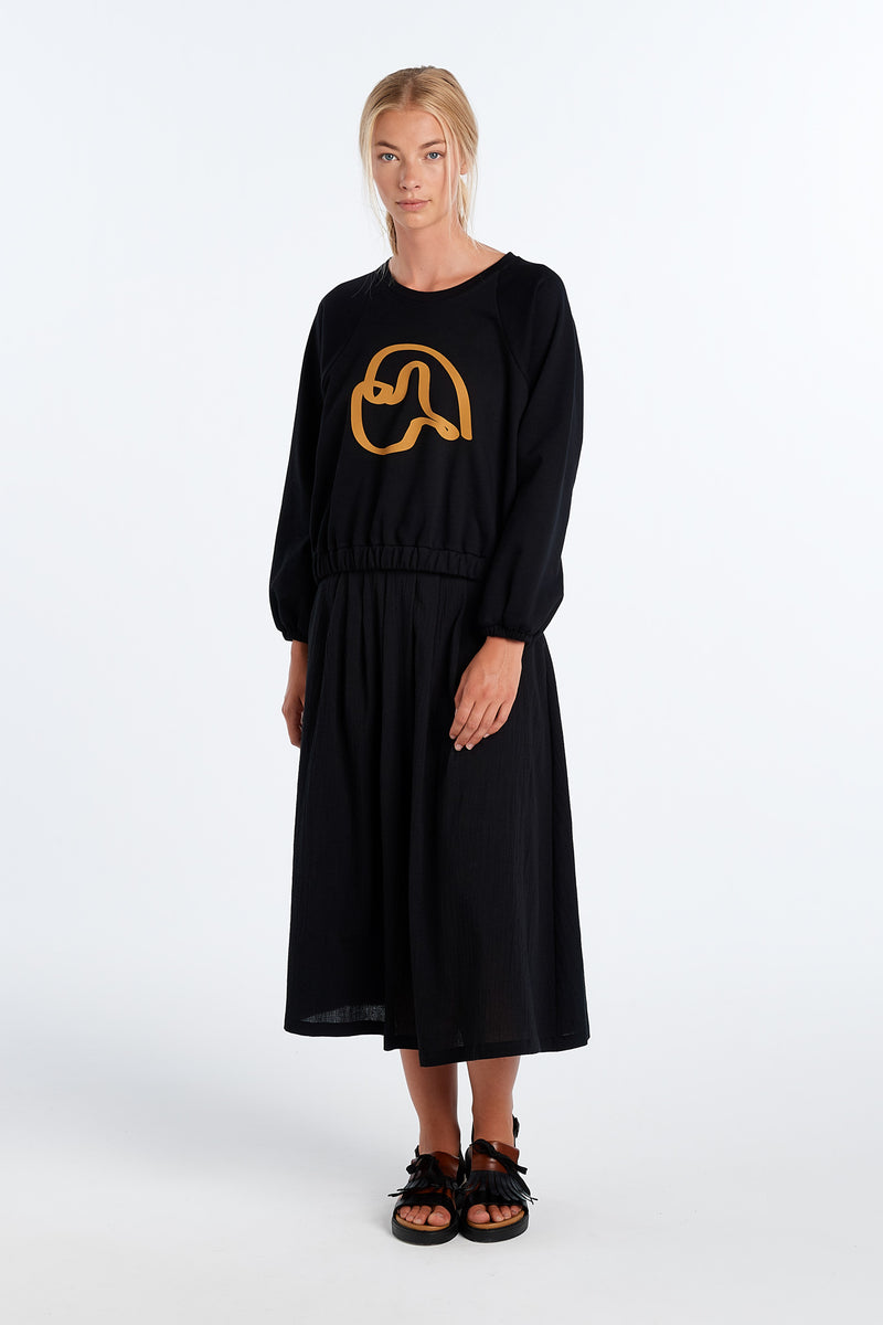 PEARY JERSEY | BLACK - NYNE - NZ Made Women's Clothing