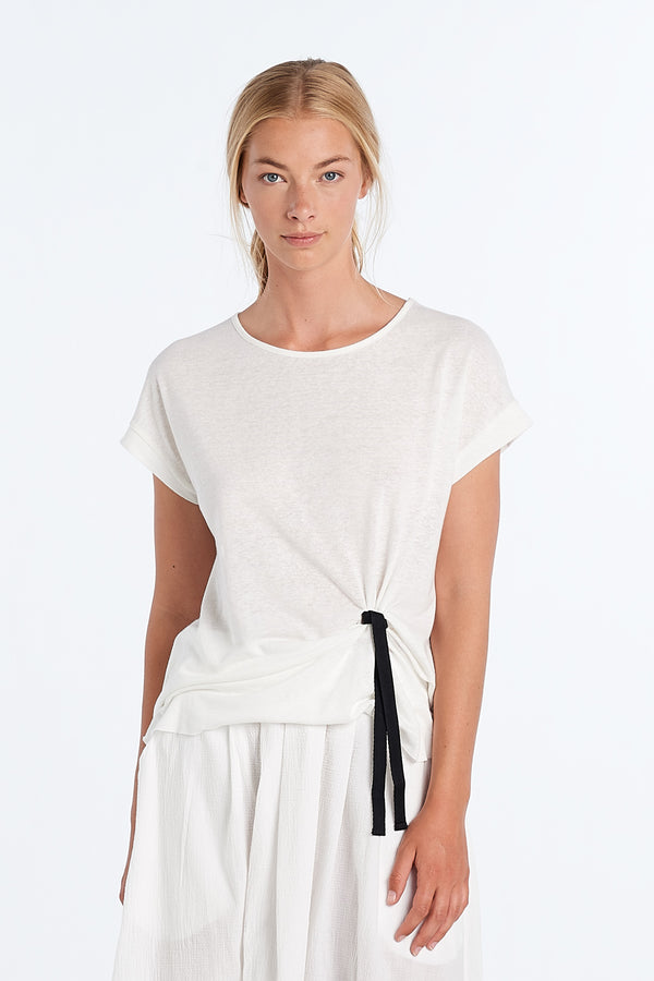 DIALOGUE TOP | IVORY - NYNE - NZ Made Women's Clothing
