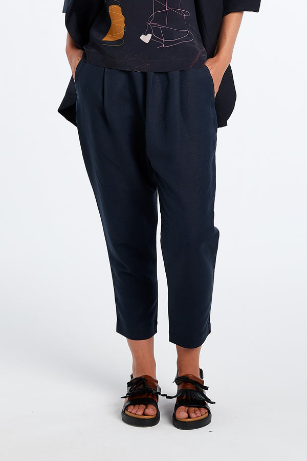 LENNOX PANT | INK - NYNE - NZ Made Women's Clothing