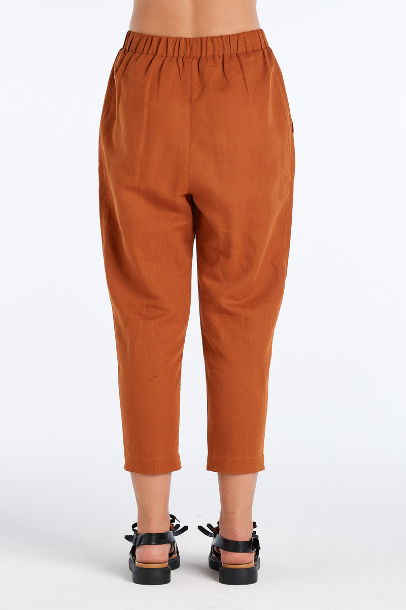 LENNOX PANT | RUST - NYNE - NZ Made Women's Clothing