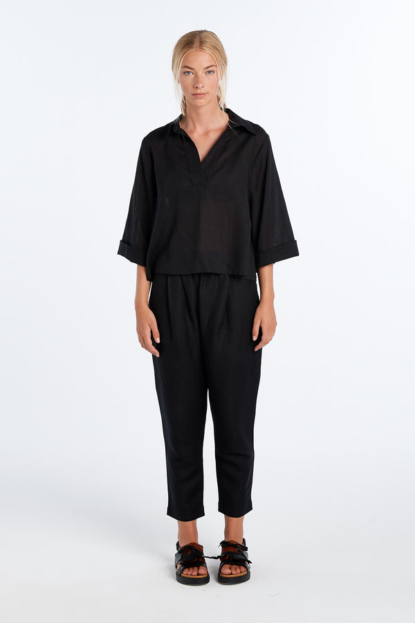 LENNOX PANT | BLACK - NYNE - NZ Made Women's Clothing