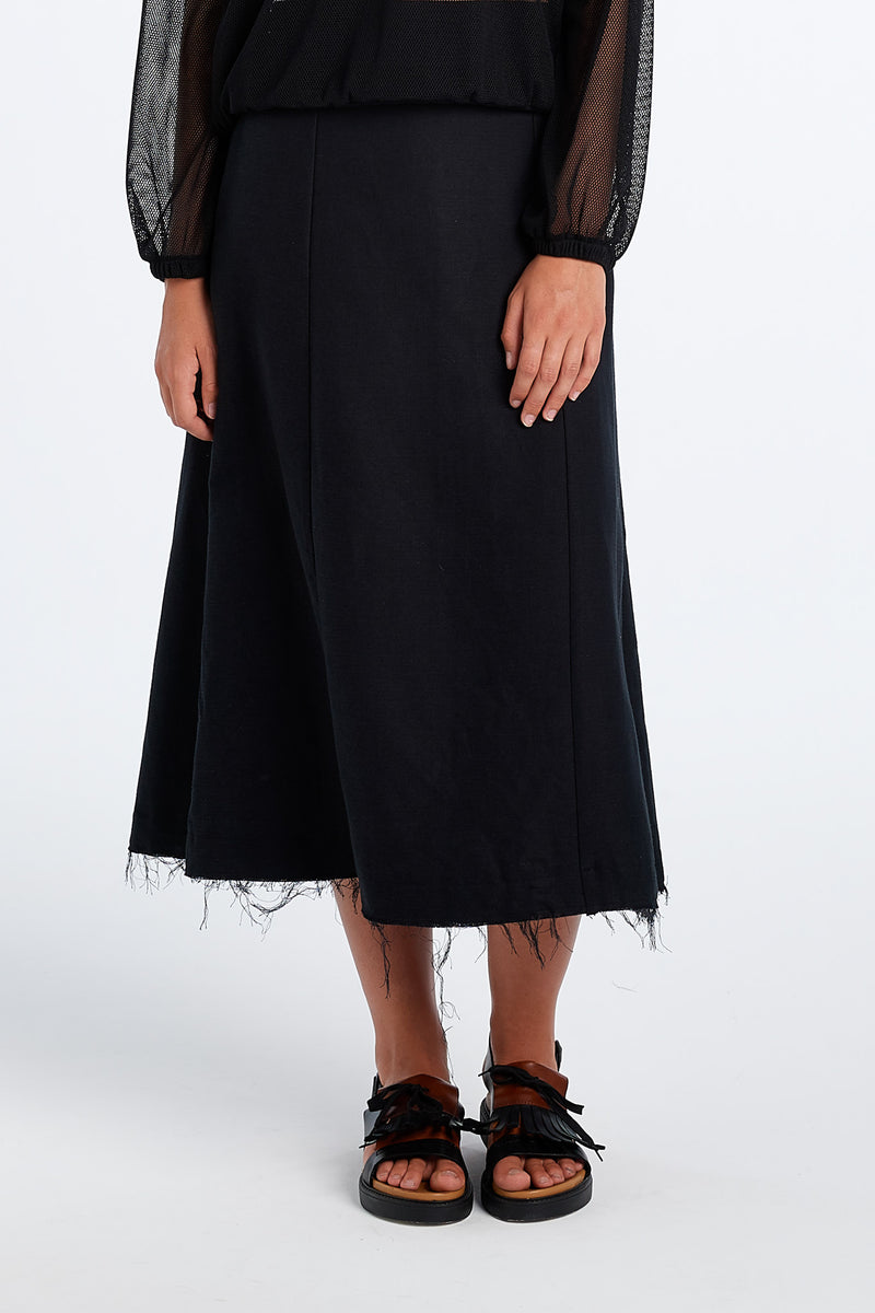 PRACTICE SKIRT | BLACK - NYNE - NZ Made Women's Clothing