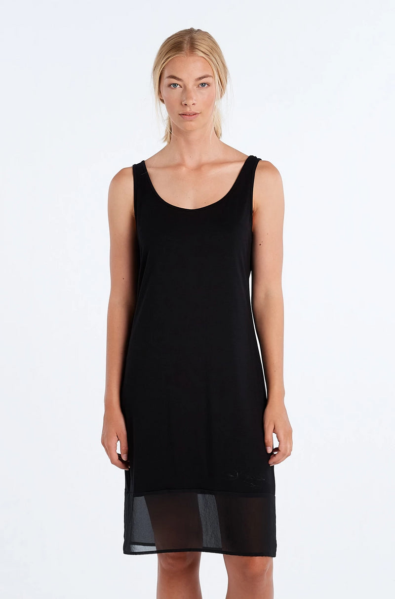 BLOCK DRESS | BLACK - NYNE - NZ Made Women's Clothing