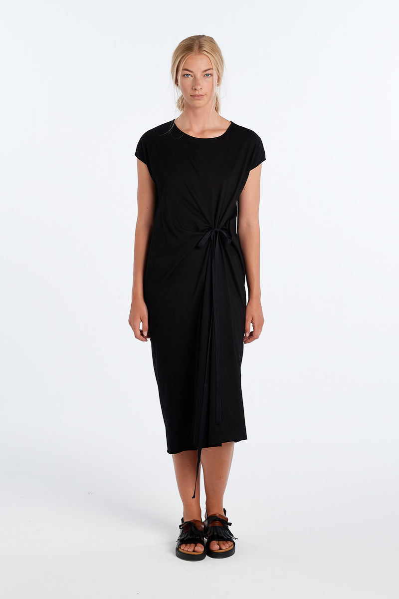 VISUAL DRESS | BLACK - NYNE - NZ Made Women's Clothing