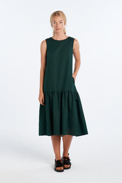 EXPLORE DRESS | FOREST - NYNE - NZ Made Women's Clothing