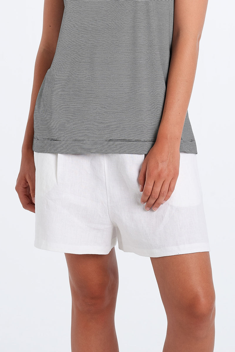 EVERYDAY SHORTS | WHITE