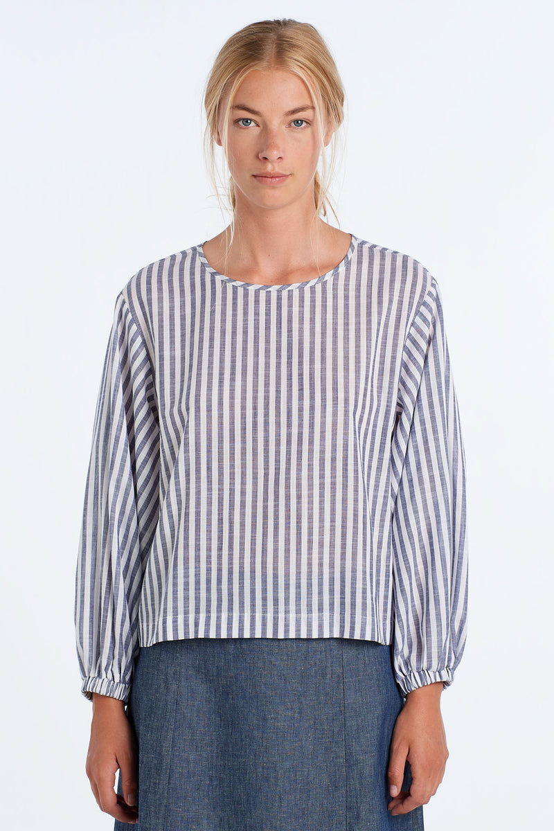 SCALE TOP | INK STRIPE