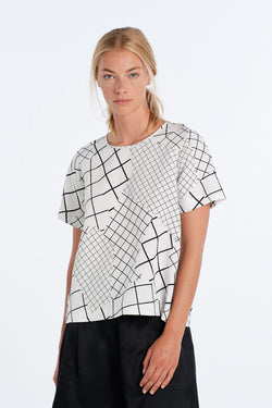 ARC TOP | IVORY GRID