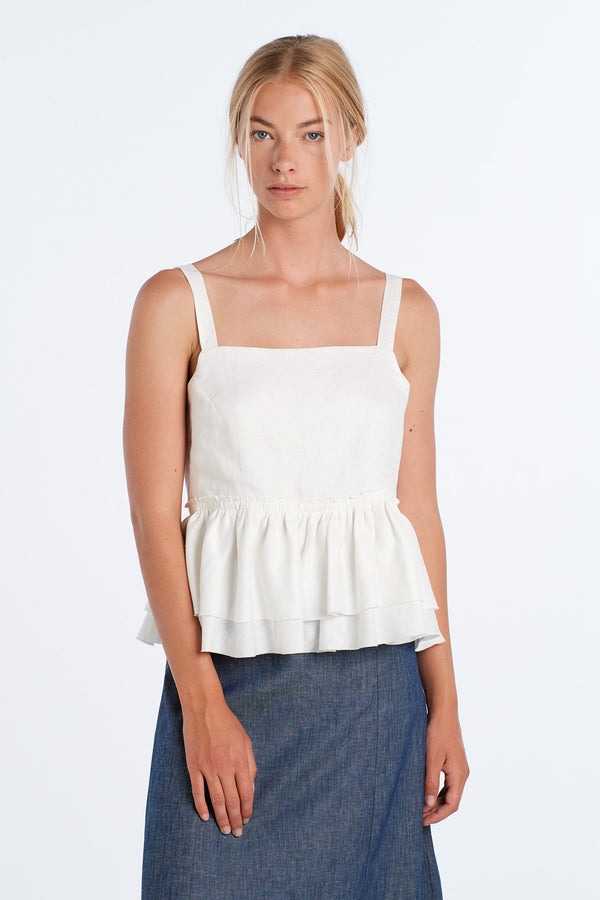 LIGHT TOP | IVORY - NYNE - NZ Made Women's Clothing