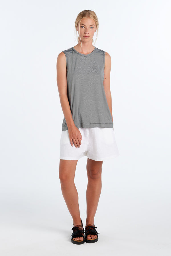 EVERYDAY SHORTS | WHITE - NYNE - NZ Made Women's Clothing