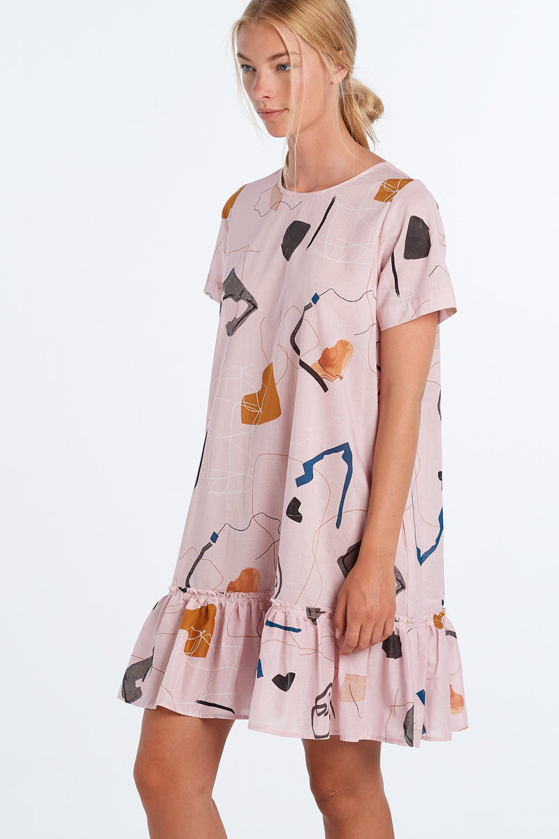 PAINTING DRESS  | BLUSH PRINT
