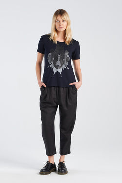 AIDA T-SHIRT | INK - NYNE - NZ Made Women's Clothing