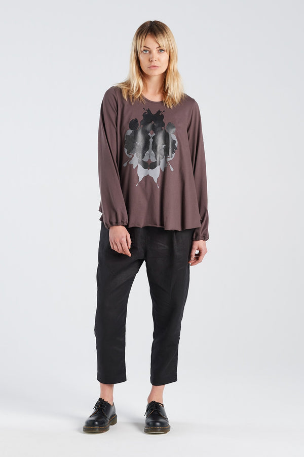 ALCHEMY TOP | BARK KNIT - NYNE - NZ Made Women's Clothing