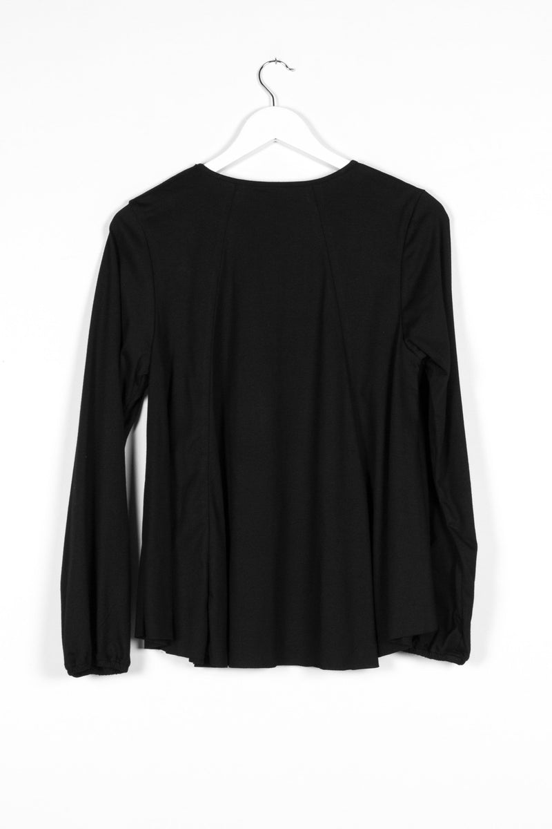 ALCHEMY TOP | BLACK KNIT - NYNE - NZ Made Women's Clothing