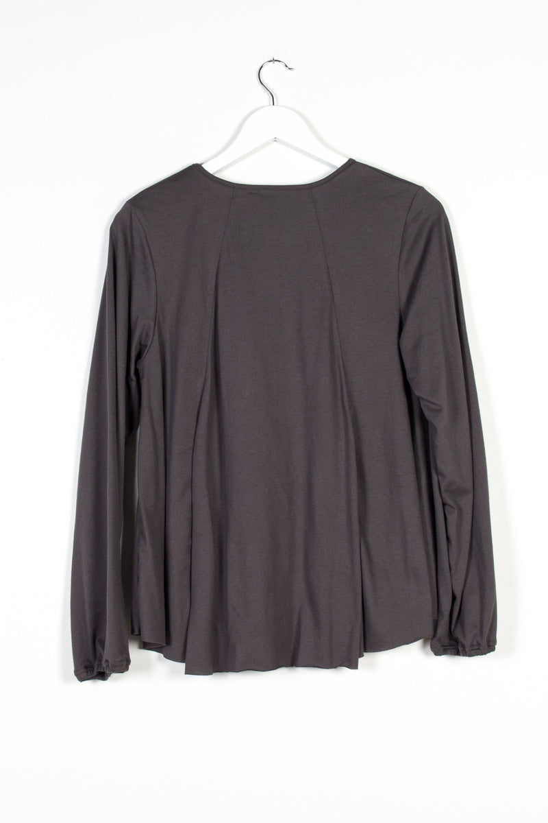 ALCHEMY TOP | CHARCOAL KNIT