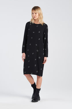 HARMONY DRESS | BLACK SPOT - NYNE - NZ Made Women's Clothing