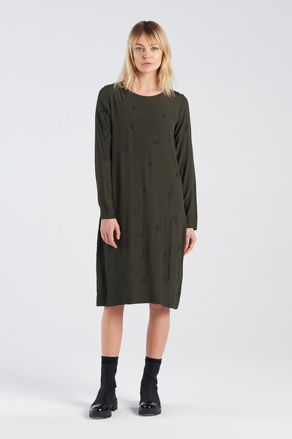 HARMONY DRESS | MOSS SPOT - NYNE - NZ Made Women's Clothing