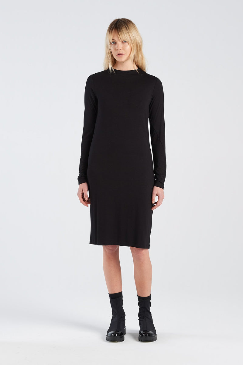 INSIGHT DRESS  | BLACK - NYNE - NZ Made Women's Clothing