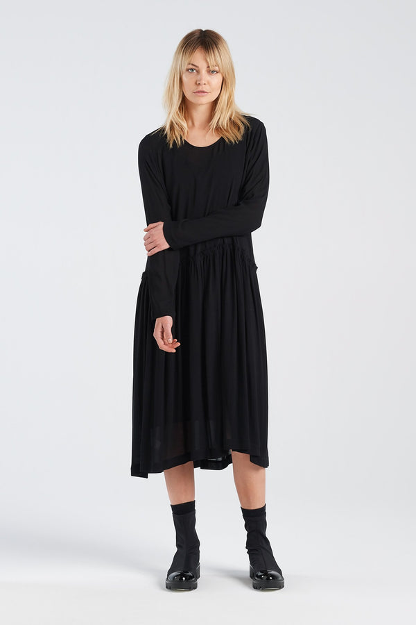 MANIFEST DRESS | BLACK - NYNE - NZ Made Women's Clothing