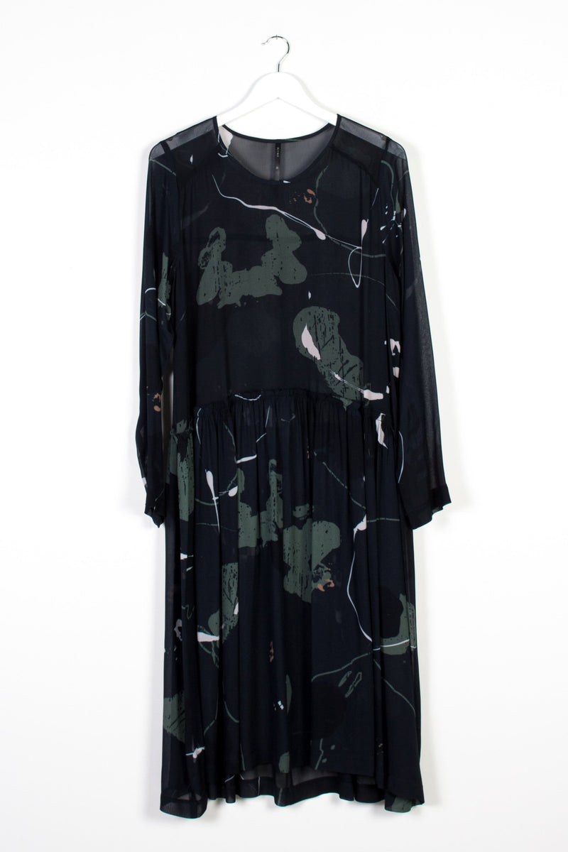 MANIFEST DRESS | RORSCH CHIFFON - NYNE - NZ Made Women's Clothing