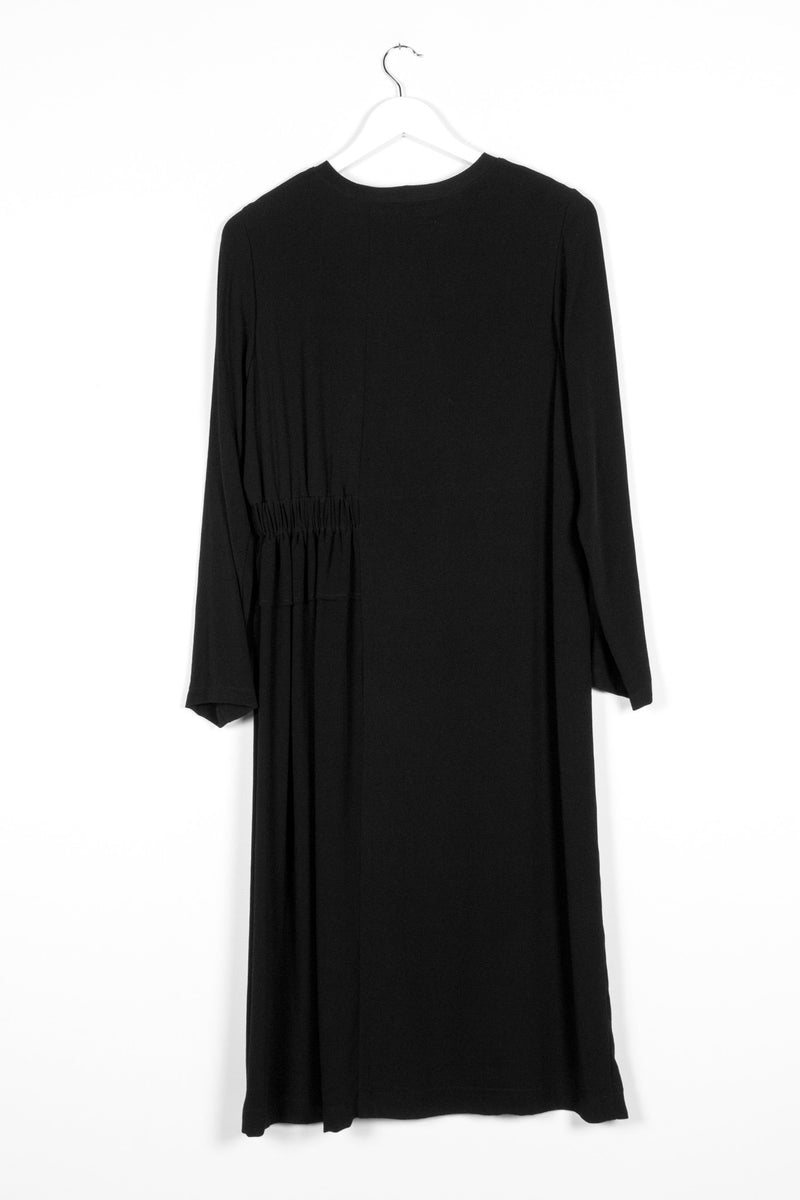 METAPHOR DRESS | BLACK - NYNE - NZ Made Women's Clothing