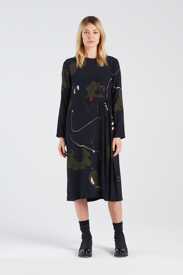 METAPHOR DRESS | RORSCHACH - NYNE - NZ Made Women's Clothing