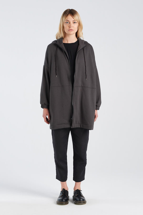 METRIC JACKET HERMANN | CHARCOAL - NYNE - NZ Made Women's Clothing