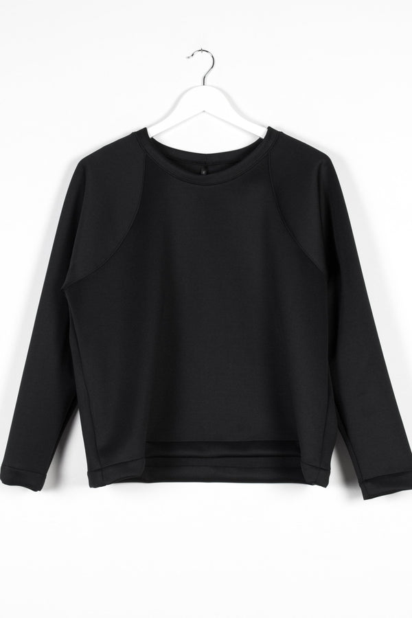 MIRROR JERSEY | BLACK SCUBA - NYNE - NZ Made Women's Clothing