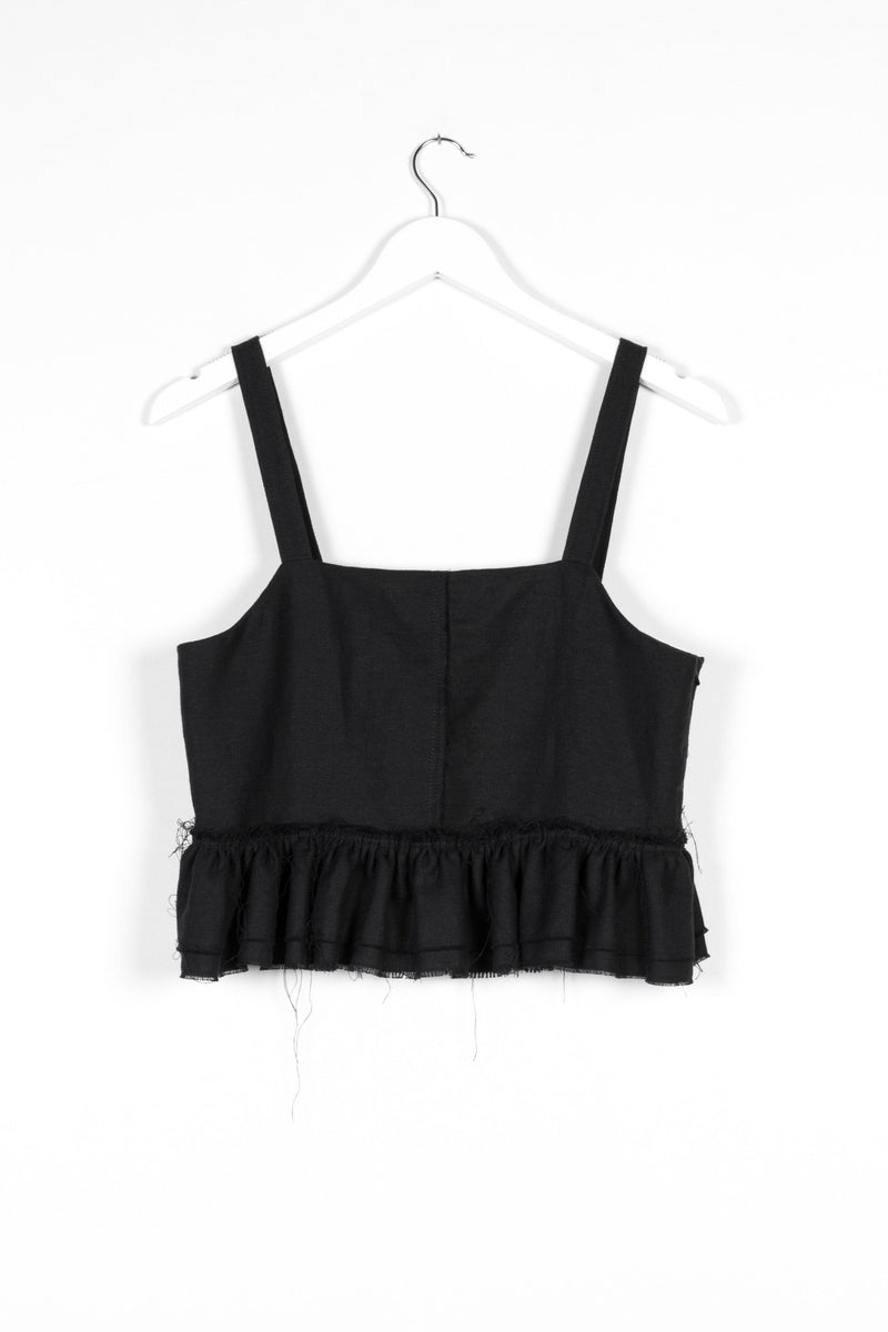NERO VEST | BLACK - NYNE - NZ Made Women's Clothing