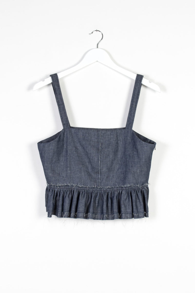 NERO VEST | DENIM